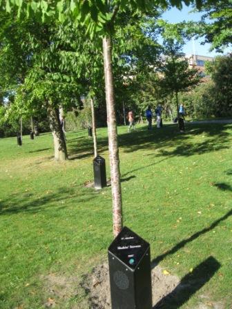 De syngende træer Aaborg